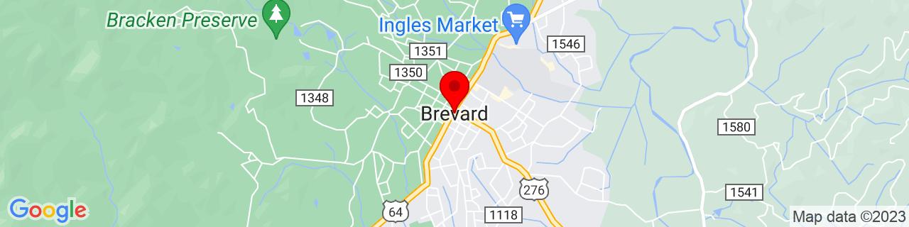 Google Map of 35.2334472, -82.7342919