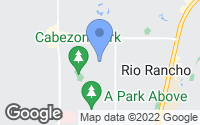 Map of Rio Rancho, NM