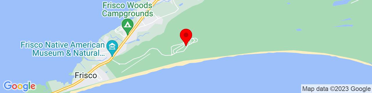 Google Map of 35.2368392944336, -75.6029281616211