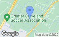 Map of Cleveland, TN