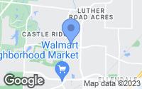 Map of Bartlett, TN