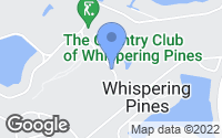 Map of Whispering Pines, NC
