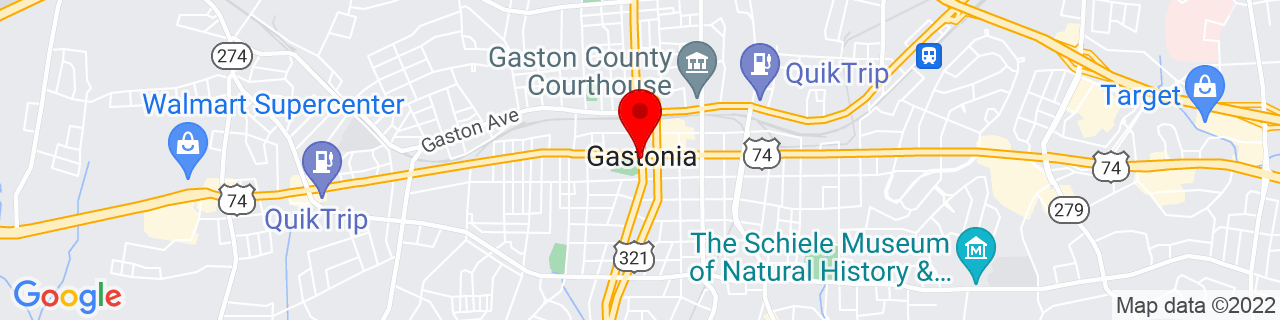 Google Map of 35.261944444444445, -81.18722222222223