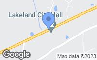 Map of Arlington, TN