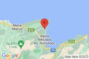 Map of Elounda