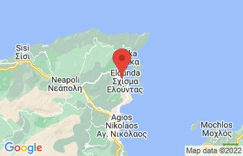 Map of Elounda