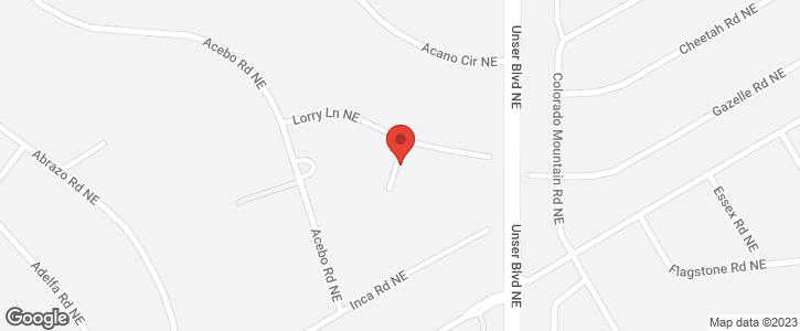 602   ACETIN  NE Place Rio Rancho NM 87124