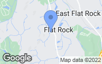 Map of Flat Rock, NC