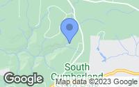 Map of Tracy City, TN