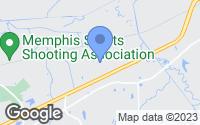 Map of Lakeland, TN