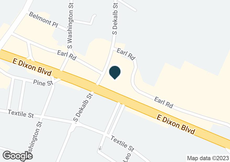 Google Map of231 E DIXON BLVD
