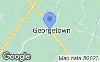 Map of Georgetown, TN
