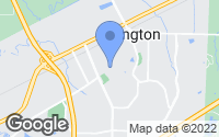 Map of Arlington, TN
