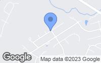 Map of Harrisburg, NC