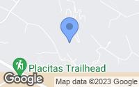 Map of Placitas, NM