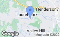 Map of Laurel Park, NC