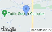 Map of Tuttle, OK