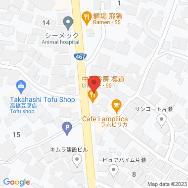 藤沢のペットサロンの地図
