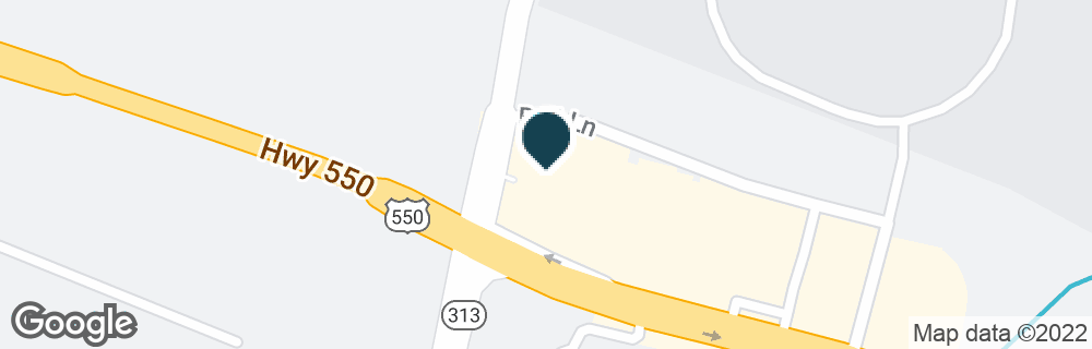 Google Map of100 E HIGHWAY 550