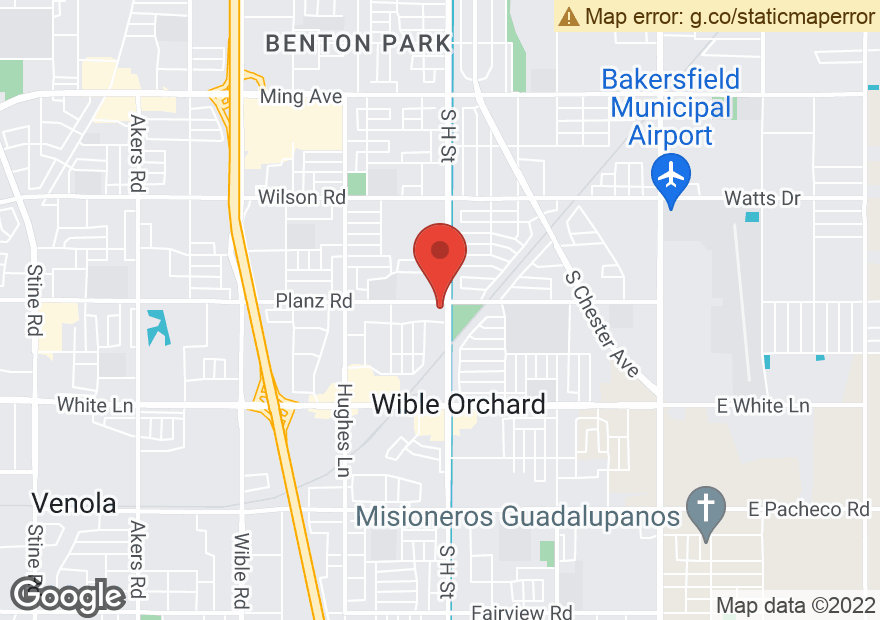 Google Map of 3315 S H ST