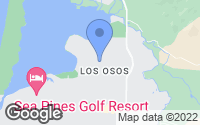Map of Baywood-Los Osos, CA