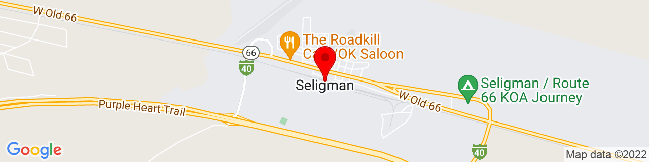 Google Map of 35.32556, -112.87741