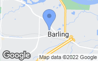 Map of Barling, AR