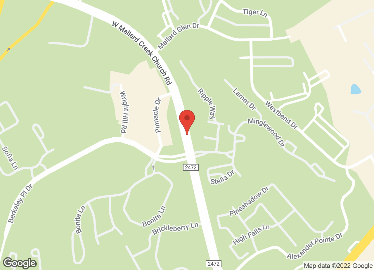 Google Map of VCA Stoney Creek Animal Hospital
