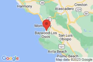 Map of Morro Bay Area