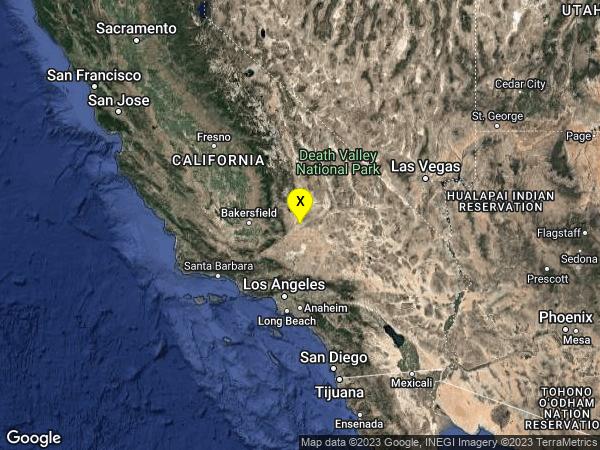 earthquake 24km NNE of California City, CA