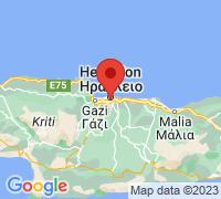 Μεγέθυνση χάρτη του Κουρείο - Ηράκλειο