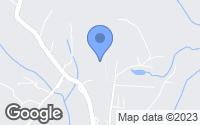 Map of Etowah, NC