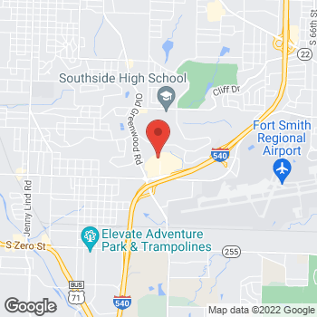Map of Bed Bath & Beyond at 3955 Phoenix Avenue, Fort Smith, AR 72903