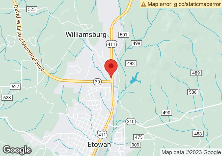 Google Map of 856 HIGHWAY 411 NORTH