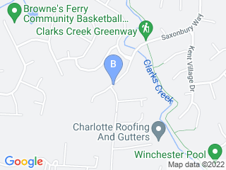 Map of Walkin n Waggin Dog Walking   P Dog Boarding options in Charlotte | Boarding