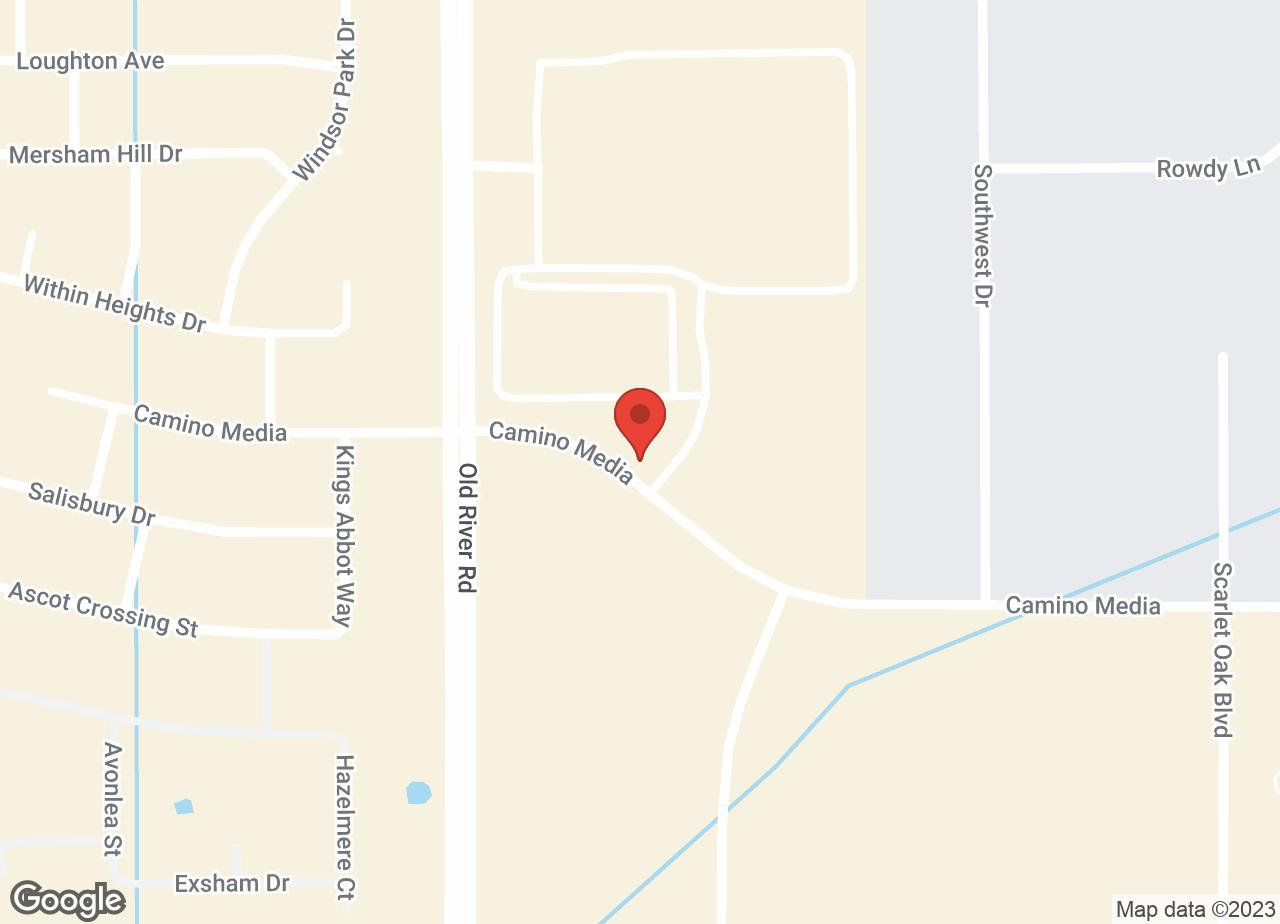 Google Map of VCA At The Oaks Animal Hospital