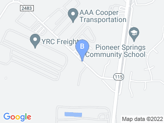 Map of One Lucky Pup Dog Boarding options in Charlotte | Boarding