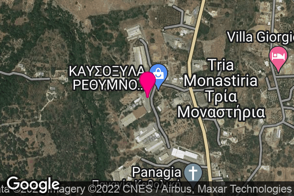 Google Map of 35.3460667,24.4636466