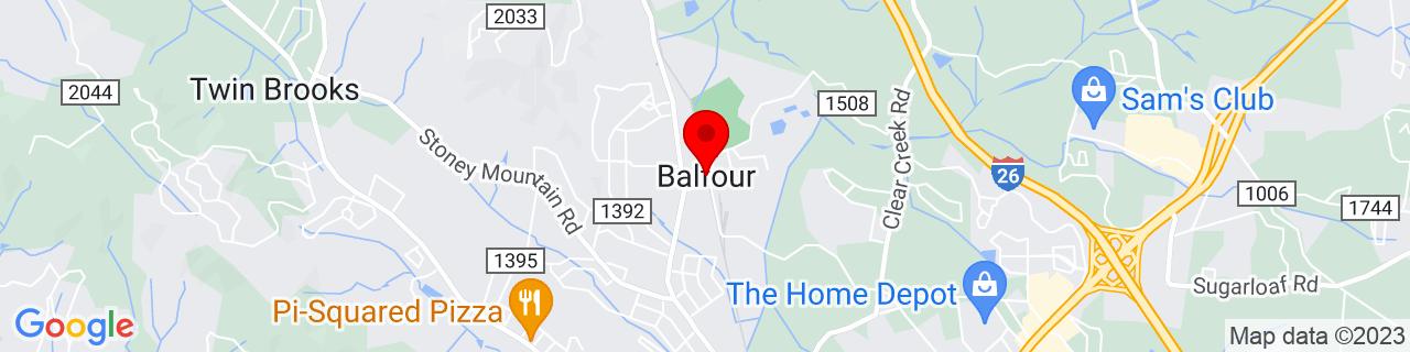 Google Map of 35.34651, -82.47206