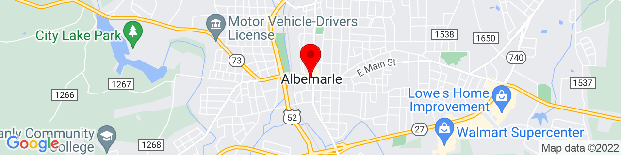 Google Map of 35.3501426, -80.2000578