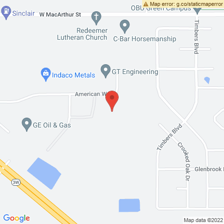 Classic Door & Millworks on Map (1 Eagle Rd, Shawnee, OK 74804) Map