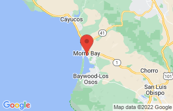 Map of Morro Bay