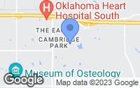 Map of Oklahoma City, OK