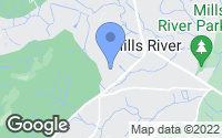 Map of Mills River, NC