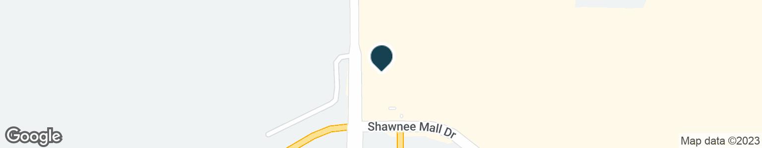 Google Map of600 SHAWNEE MALL DR