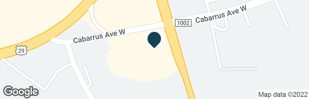 Google Map of735 CABARRUS AVE W