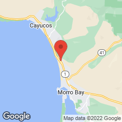 Morro Bay Vacation Stays on the map