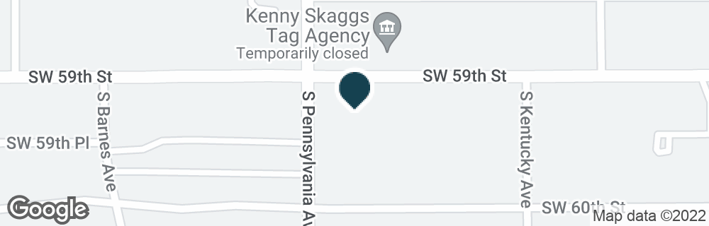 Google Map of6000 S PENNSYLVANIA AVE