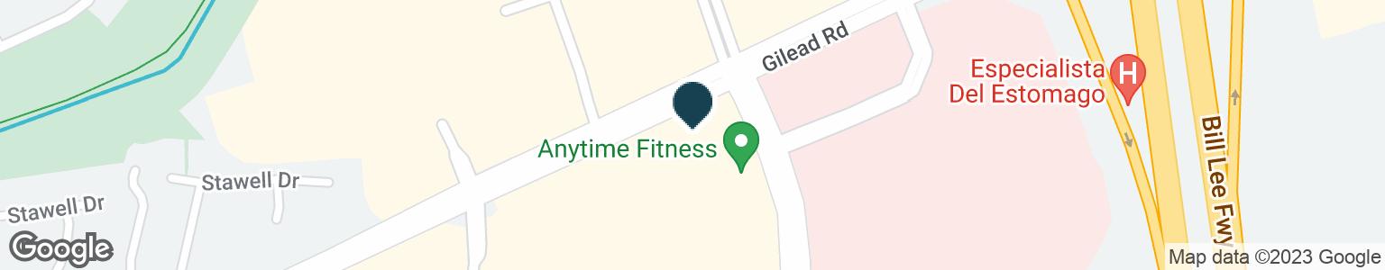 Google Map of9848 GILEAD RD