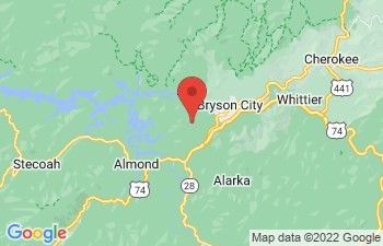 Map of Bryson City